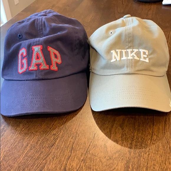d45ae4b9f74 Men s NIKE and GAP Baseball Caps. M 5bf2c634baebf69f0fe9ae26